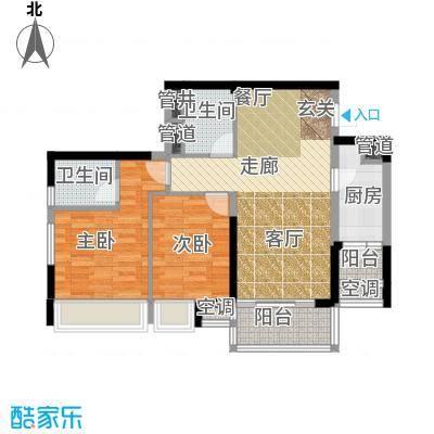 时代晶科名苑94.00㎡三期15号楼面积9400m户型