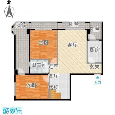 安德小城故事1.30㎡1期135栋跃层A1户型