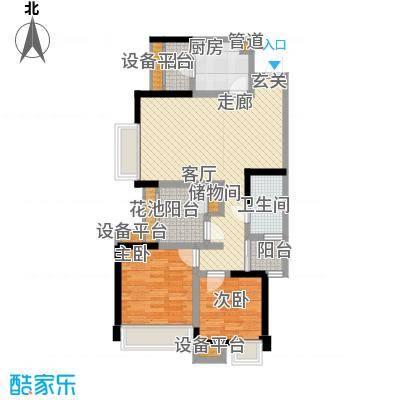 ICON尚郡88.00㎡一期1、2栋标准层B1户型