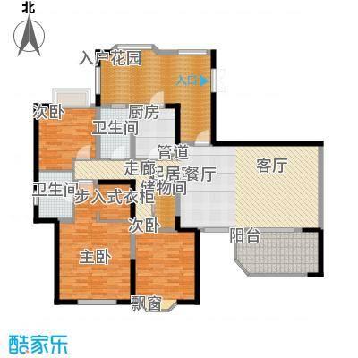 中环岛158.00㎡一期3号楼标准层A2户型