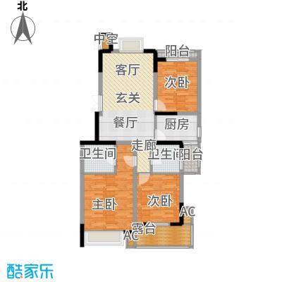 瑞江花园菊苑168.00㎡面积16800m户型