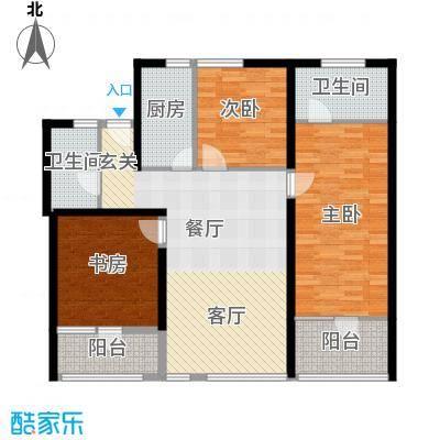 瑞江花园菊苑218.00㎡面积21800m户型