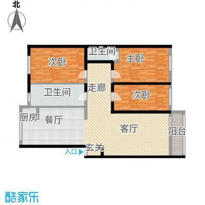 瑞江花园菊苑146.00㎡面积14600m户型