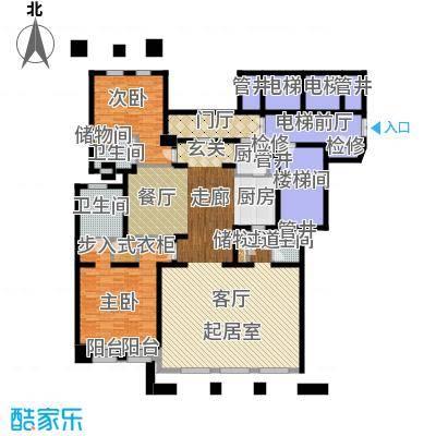 公元沐桥214.00㎡图原公寓E1-1户型
