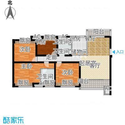 良渚文化村七贤郡135.00㎡户型