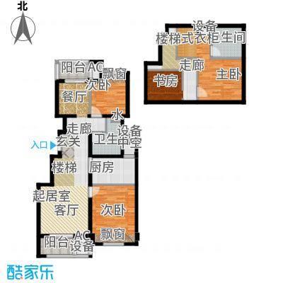 良渚文化村七贤郡90.00㎡二期B6户型