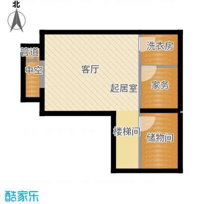 立达博雅苑54.67㎡一期7号楼地下一层A7户型