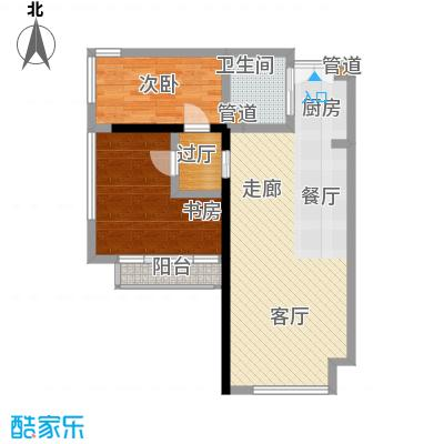 塞纳公馆104.80㎡12号楼11-26层户型