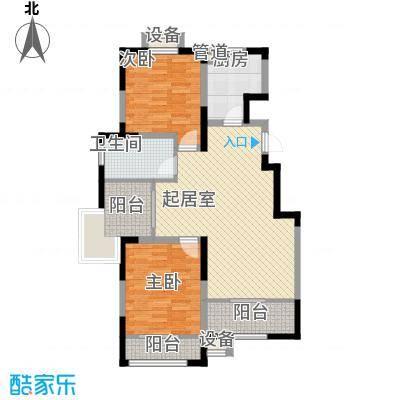 心泊馨城105.62㎡一期2、3号楼标准层h2户型