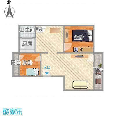 景富新村的户型图