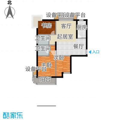 同方瞰和平134.76㎡10号楼标准层面积13476m户型