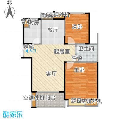 金成江南春城庭院深深89.73㎡云轩庭b8户型