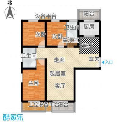 诚基中心国际公寓130.00㎡面积13000m户型