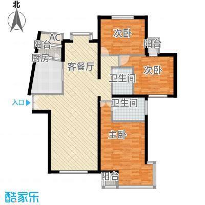 海逸长洲恋海园156.00㎡3面积15600m户型