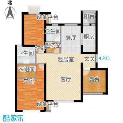 清谷120.00㎡兰园3号楼4号楼S1户型