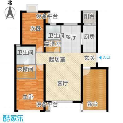 清谷120.00㎡兰园3号楼4号楼R1户型