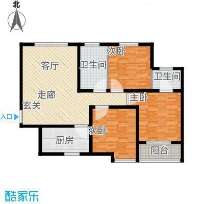 鼎正庆化苑118.24㎡面积11824m户型