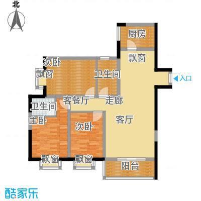 佳馨尊邸125.00㎡B面积12500m户型