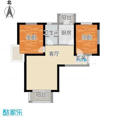 贻成豪庭96.00㎡高层标准层D1户型