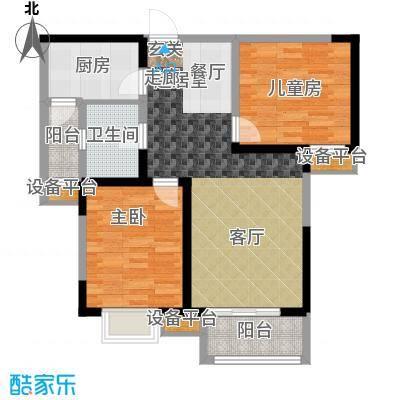 贻成豪庭96.00㎡高层标准层D3户型