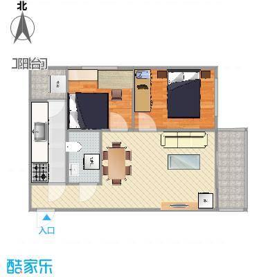 80方两室一厅