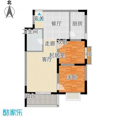 汇鑫花园95.12㎡1单元3#2室面积9512m户型