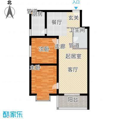 汇鑫花园99.70㎡3号楼C面积9970m户型