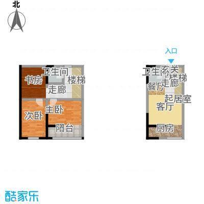 广天国际公寓D2户型