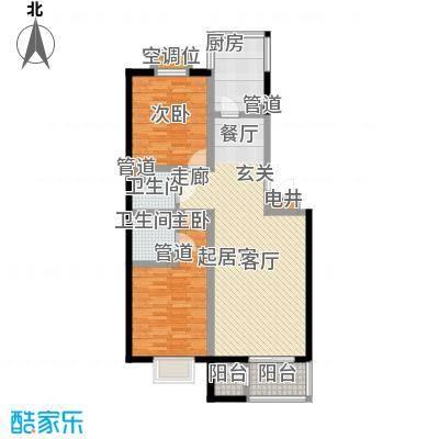 元丰怡家94.00㎡1面积9400m户型