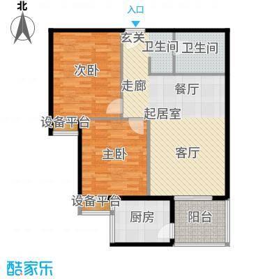宏府嘉会公寓91.38㎡G1面积9138m户型