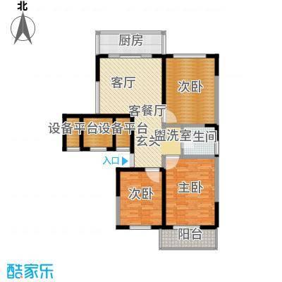 兴阎温泉小区110.01㎡面积11001m户型