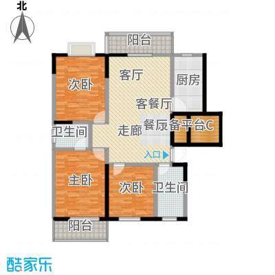 兴阎温泉小区143.73㎡面积14373m户型