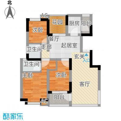 唐城宾馆家属院60.00㎡面积6000m户型