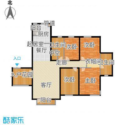 八号府邸192.00㎡3#4#面积19200m户型