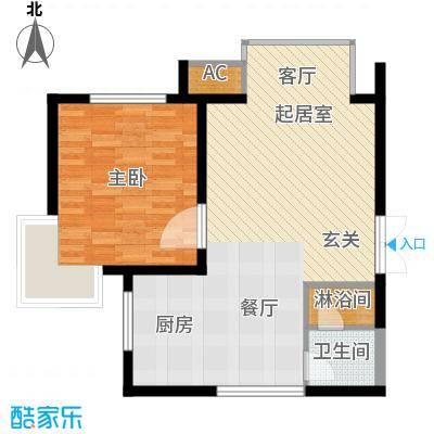 丹尼尔金色时代公寓66.00㎡041面积6600m户型