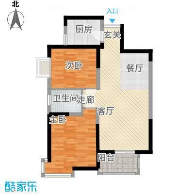 龙记帝景湾89.95㎡面积8995m户型