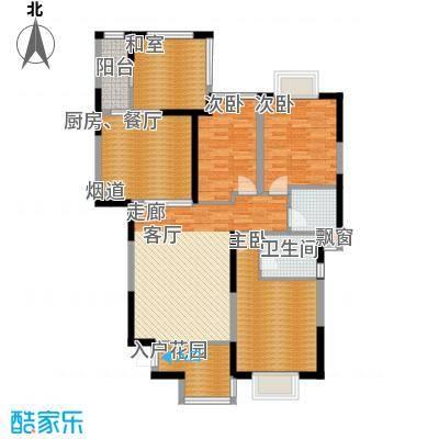 唐品A+133.92㎡板式高层E2、F13面积13392m户型