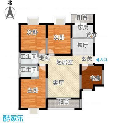 弘和美邻馆139.32㎡二期G面积13932m户型