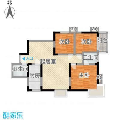 紫薇大厦110.00㎡面积11000m户型