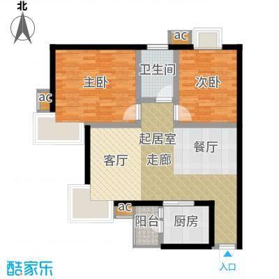 太白锦苑92.00㎡面积9200m户型