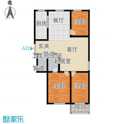 吉庆大厦143.00㎡面积14300m户型