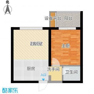 中海国际社区55.00㎡湖滨小镇55面积5500m户型