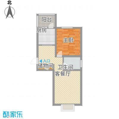 海逸长洲恋海园70.00㎡面积7000m户型