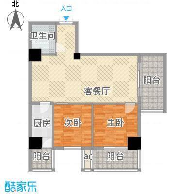 大明宫寓115.04㎡室标准层户面积11504m户型