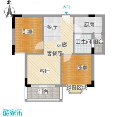 鑫汇苑小区97.00㎡面积9700m户型