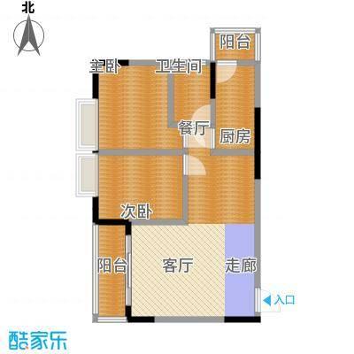 立丰国际公寓100.00㎡面积10000m户型