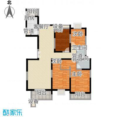 振业泊墅164.70㎡4#楼A1面积16470m户型