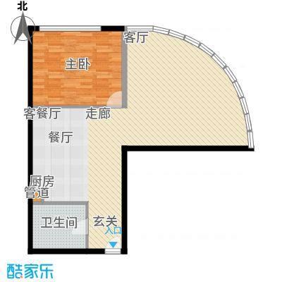 曲江皇家花园1户型