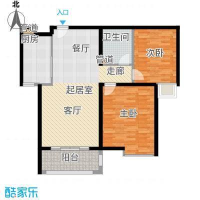 宏城国际公寓95.00㎡面积9500m户型