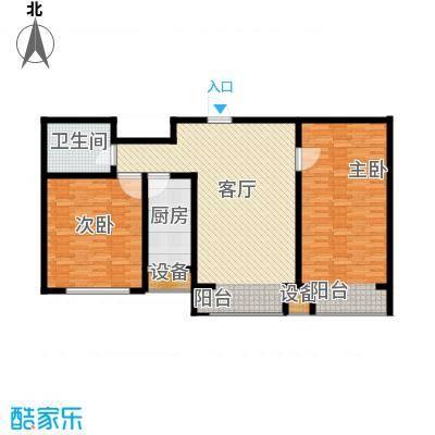 滨旅煦园101.00㎡1/4/5号楼小高层标准层C/C1户型